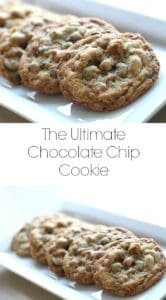 Ultimate Chocolate Chip Cookie Recipe