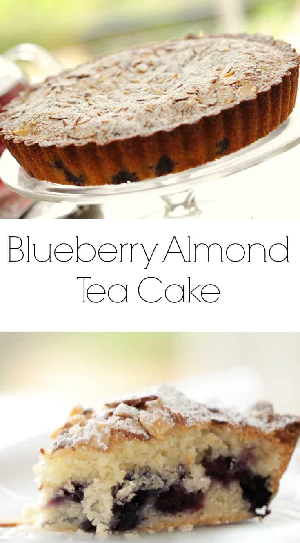 Blueberry Almond Tea Cake