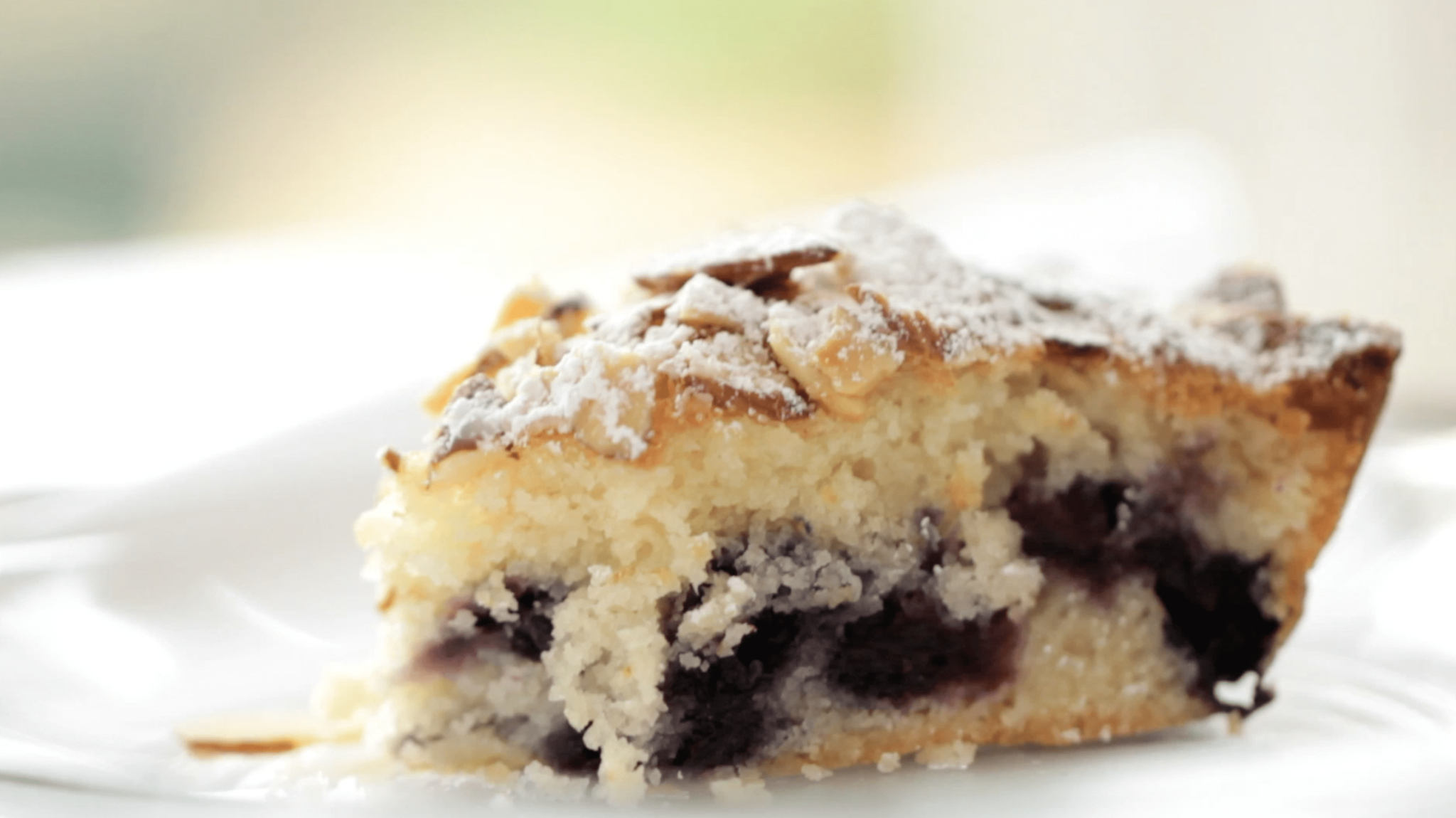 Blueberry Almond Team Cake