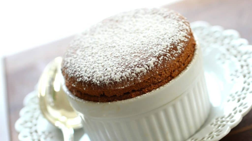 Foolproof Chocolate Souffle