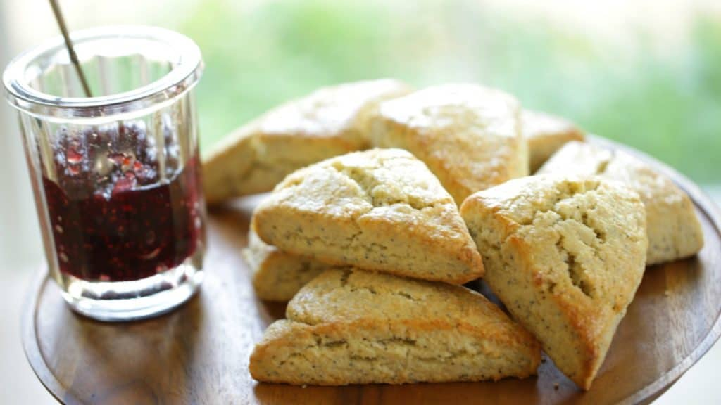 Lemon Poppy Seed Scone Recipe