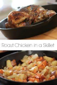 Roast Chicken in a Skillet