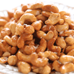 Honey Cashews part of my Easy Appetizers for parties
