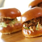 BBQ Chicken Slider Recipe-No Grill Needed! Perfect Father's Day Idea
