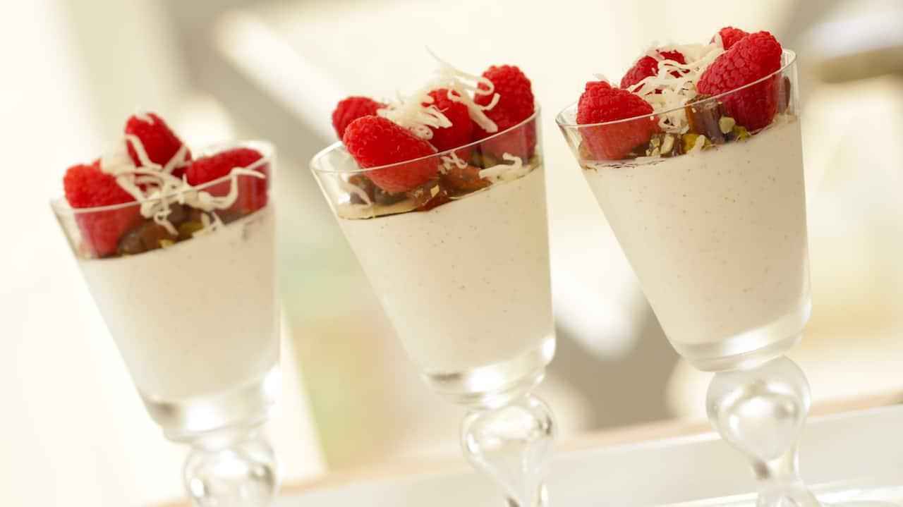 Greek Yogurt Panna Cotta