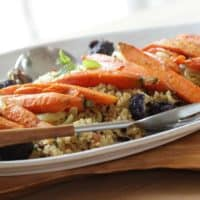 Curry Roasted Vegetables with Quinoa