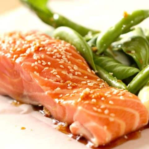 Beth's Soy Ginger Salmon
