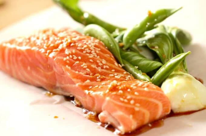 Soy Ginger Salmon Recipe