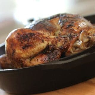 Roast Chicken in a Skillet
