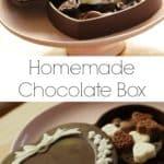 Homemade Chocolate Box
