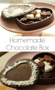 Homemade Chocolate Box