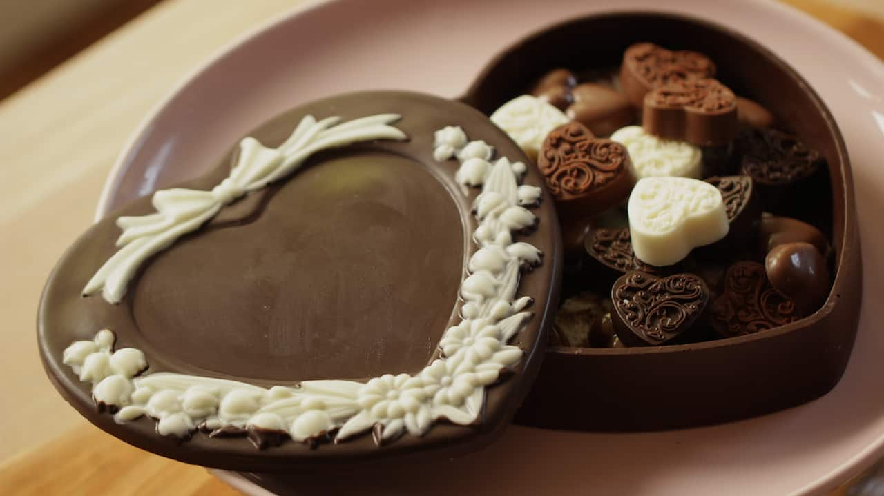 Homemade Chocolate Box - Entertaining with Beth