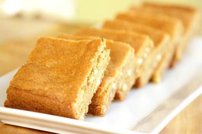 Butterscotch Blondie Recipe