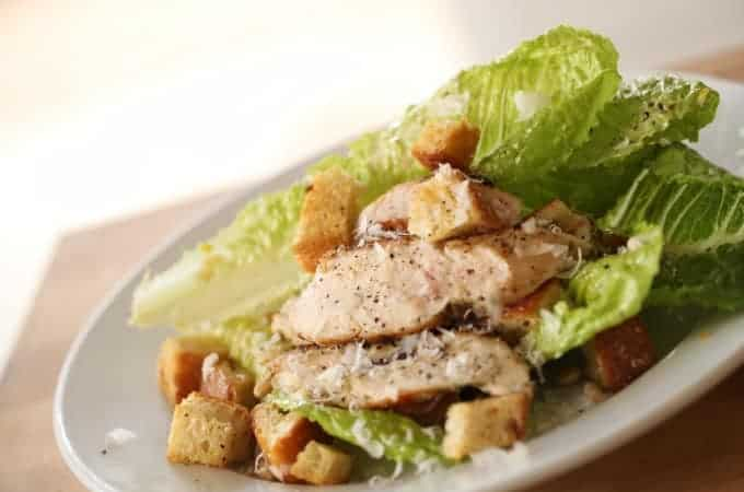 Caesar Salad with Grilled Chicken Recipe