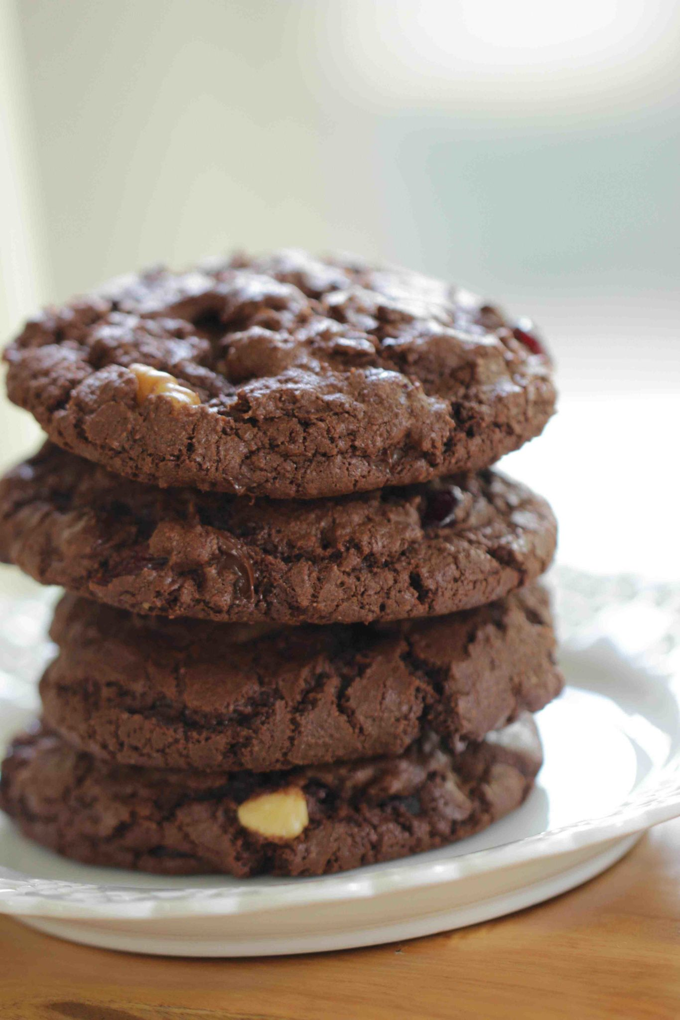 Double Chocolate Chunk Cookie Recipe - Entertaining with Beth