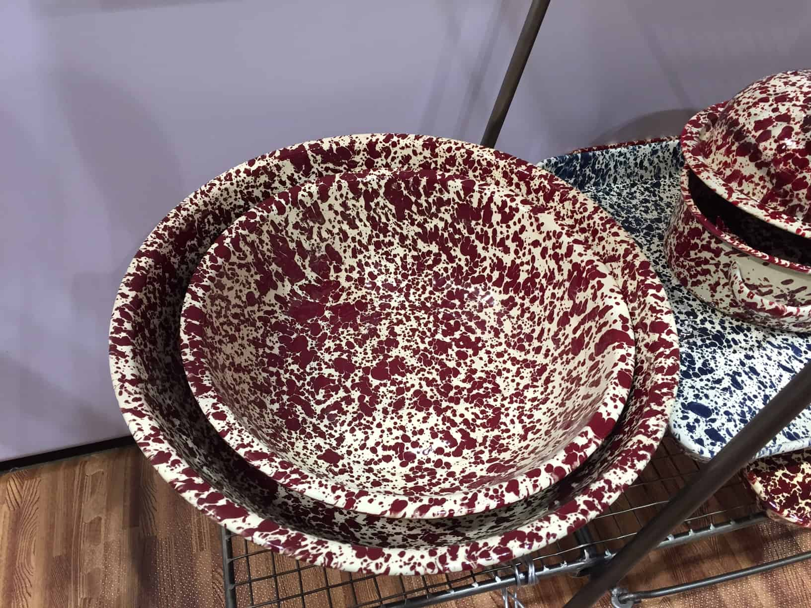 Splatterware Serving Bowls