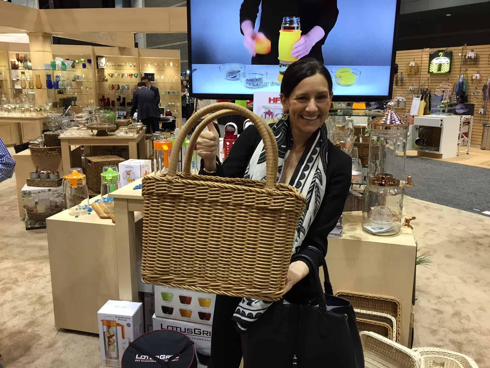 Awesome Basket made out of Poloypropolene by Artland