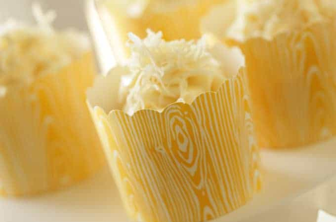 Beth's Banana Coconut Cupcake Recipe