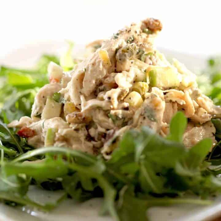 Healthy Chicken Salad Recipe-No Mayonnaise
