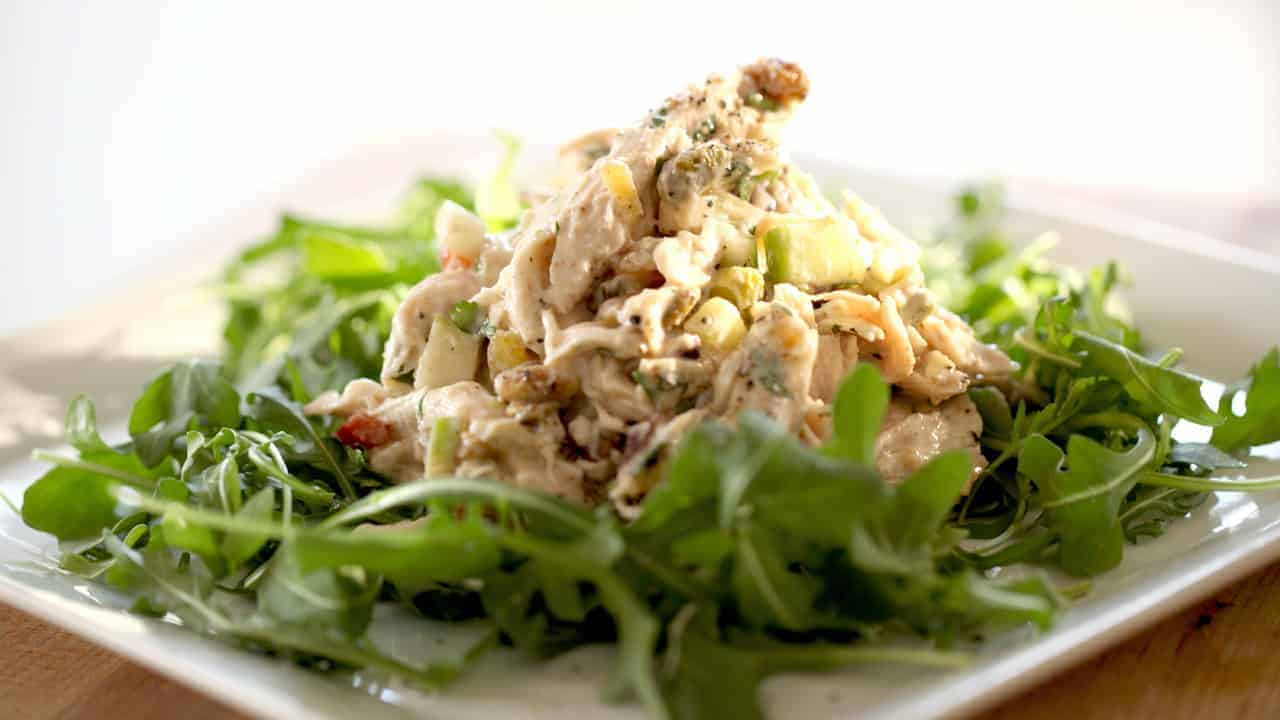 Spiced Chicken Salad