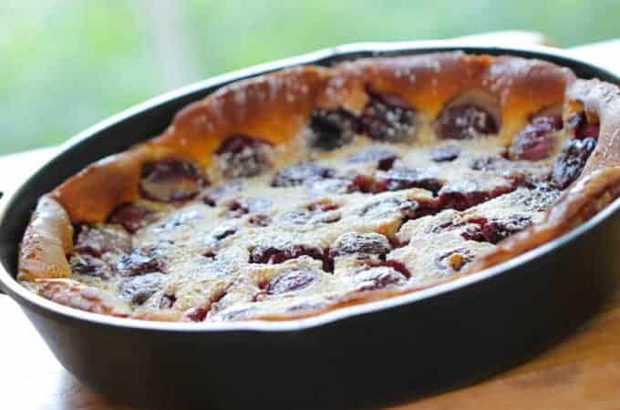 Cherry Clafoutis Recipe