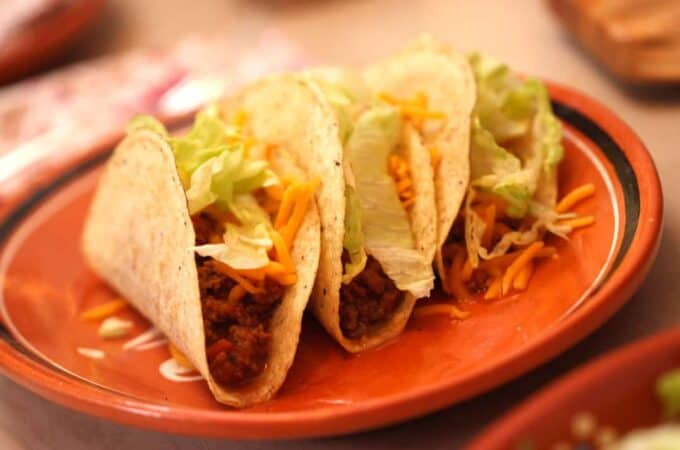 Slow Cooker Tacos. An easy recipe for your slow cooker