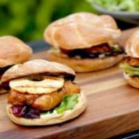 Grilled Chicken Teriyaki Sandwiches