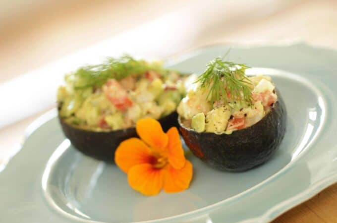 Avocado Shrimp Cup Recipe