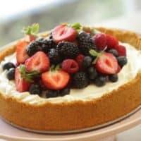 The EASIEST No-Bake Cheesecake Recipe