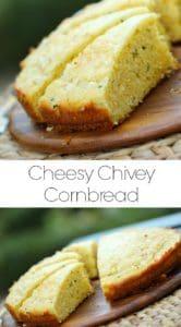 Cheesey Chivey Cornbread Recipe