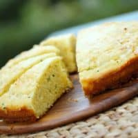 Cheesy Chivey Cornbread