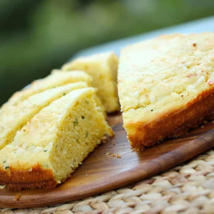 Cheesy Chivey Cornbread Recipe