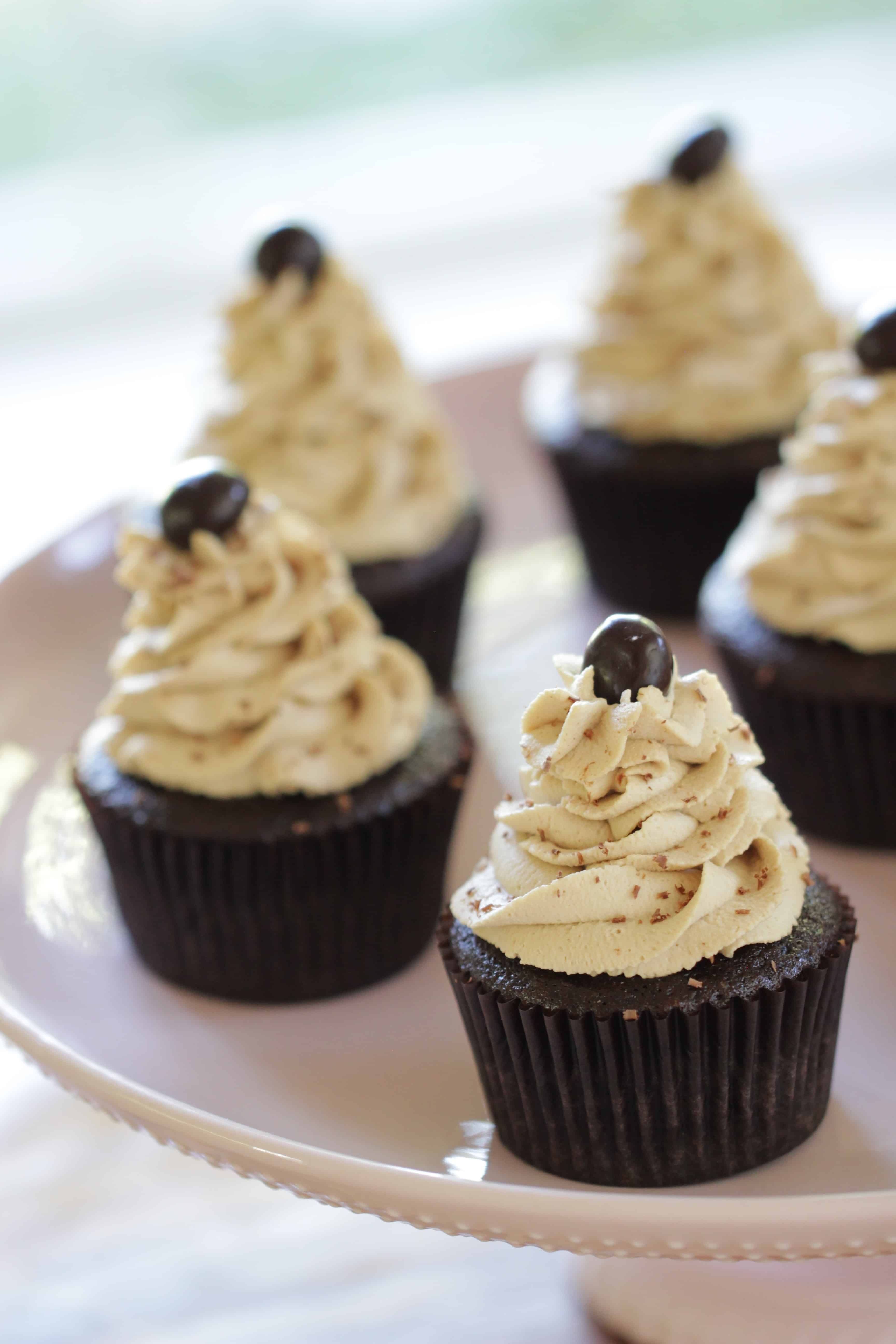 Cafe Mocha Cupcake Recipe - Entertaining with Beth