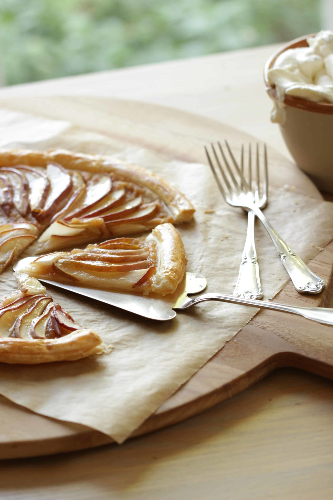 Easy Pear Tart Recipe