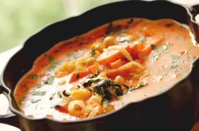 Vegetarian Thai Red Curry Recipe