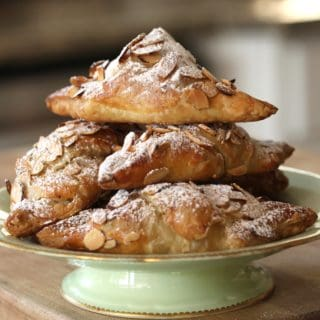 Easy Almond Croissants