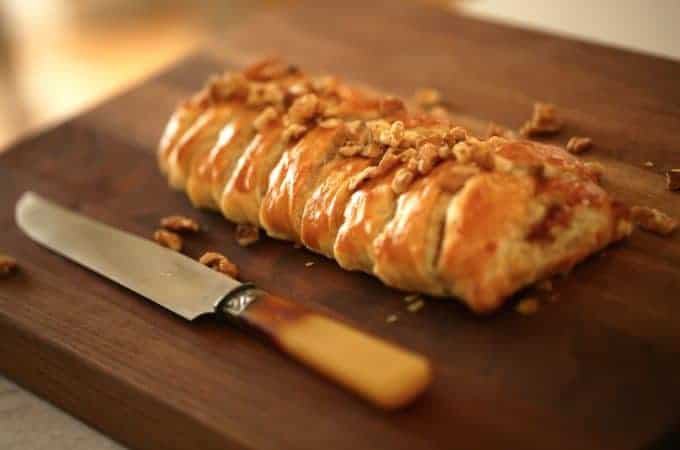 Brie Braid in Puff Pastry