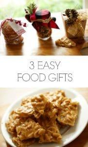 3 DIY Food Gifts