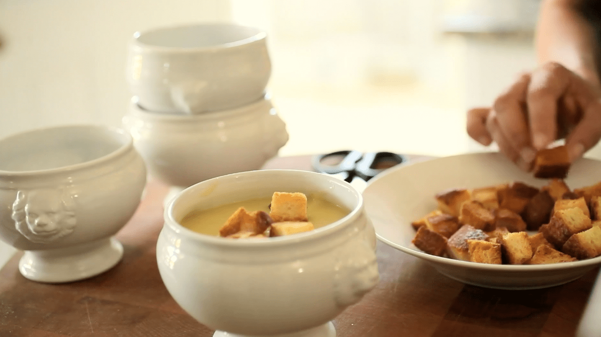 Potato Leek Soup (No Cream)
