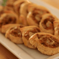 Sausage and Cheese Pinwheels