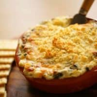 Beth's Hot Artichoke and Spinach Dip