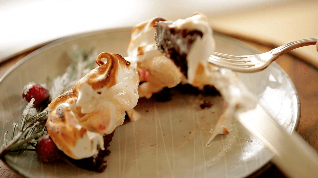 Holiday Baked Alaska