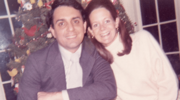 Joe and Barbara Ruggiero at Christmas