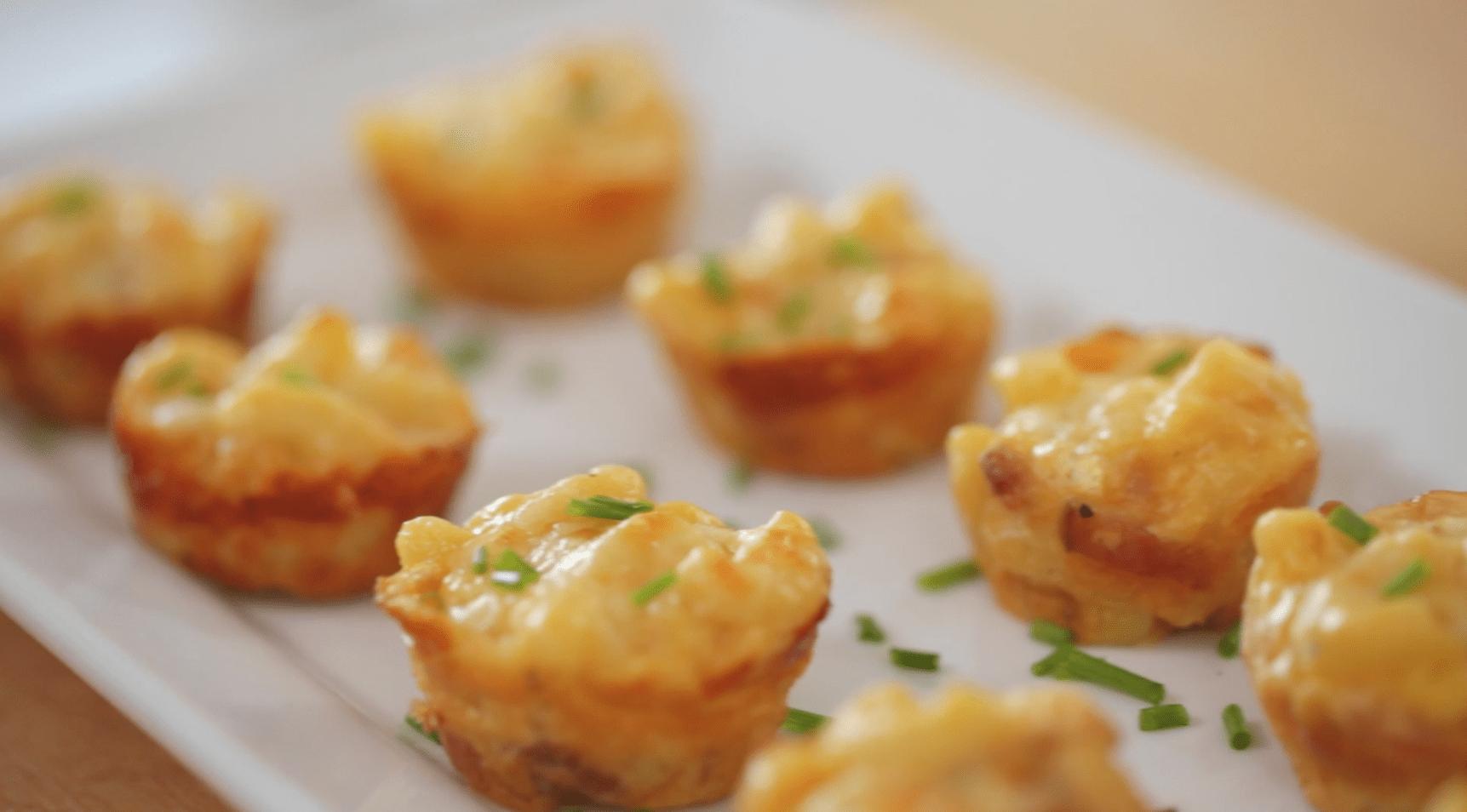 Bacon Mac & Cheese Bites