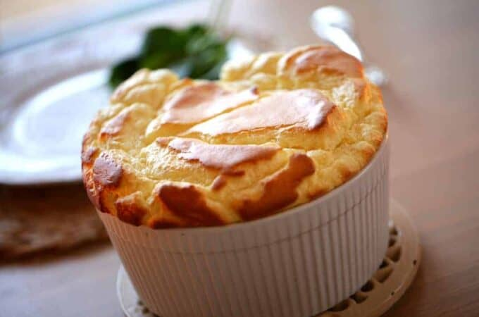 Beth's Easy Cheese Souffle Recipe