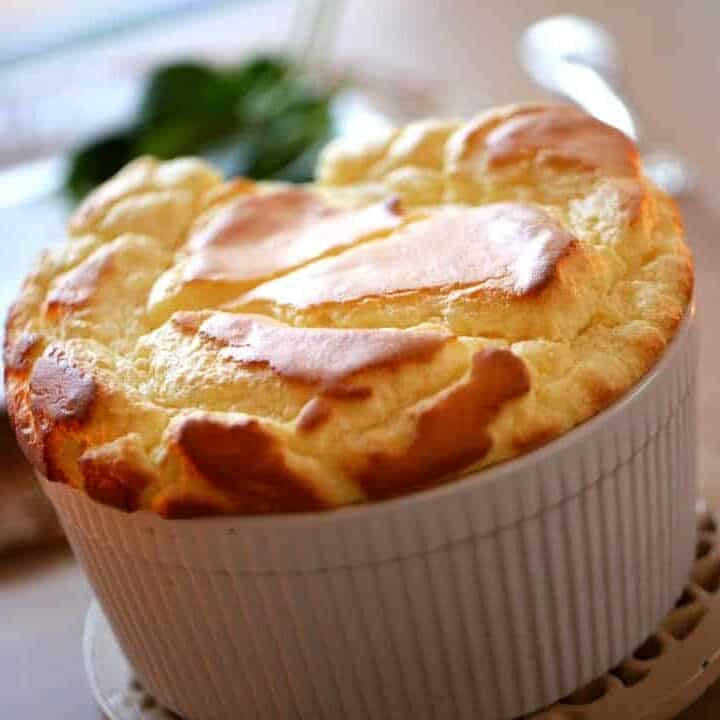 Beth's Easy Cheese Souffle