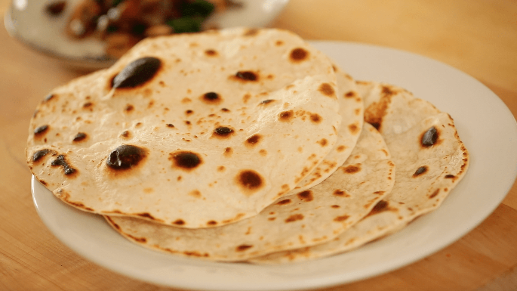 cooked tortillas for a Veggie Quesadilla Recipe with Chunky Gaucomole