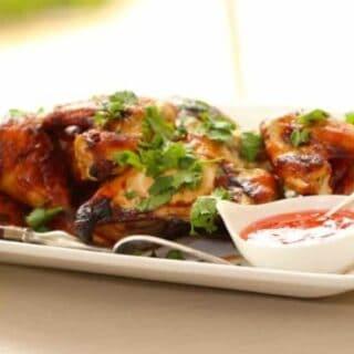 Soy Glazed Roast Chicken Recipe