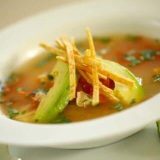 Easy Tortilla Chicken Soup