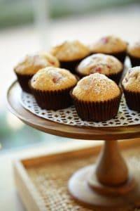 Easy Strawberry Lemon Muffins